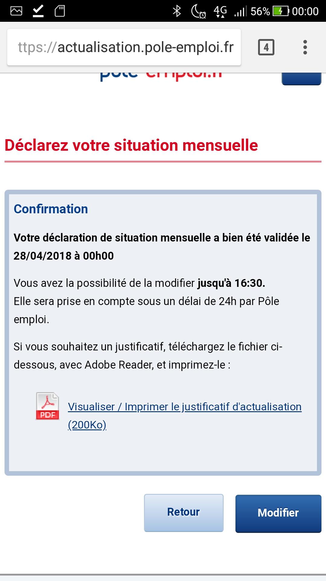 Date Actualisation Pole Emploi 2018 Experience Conseil