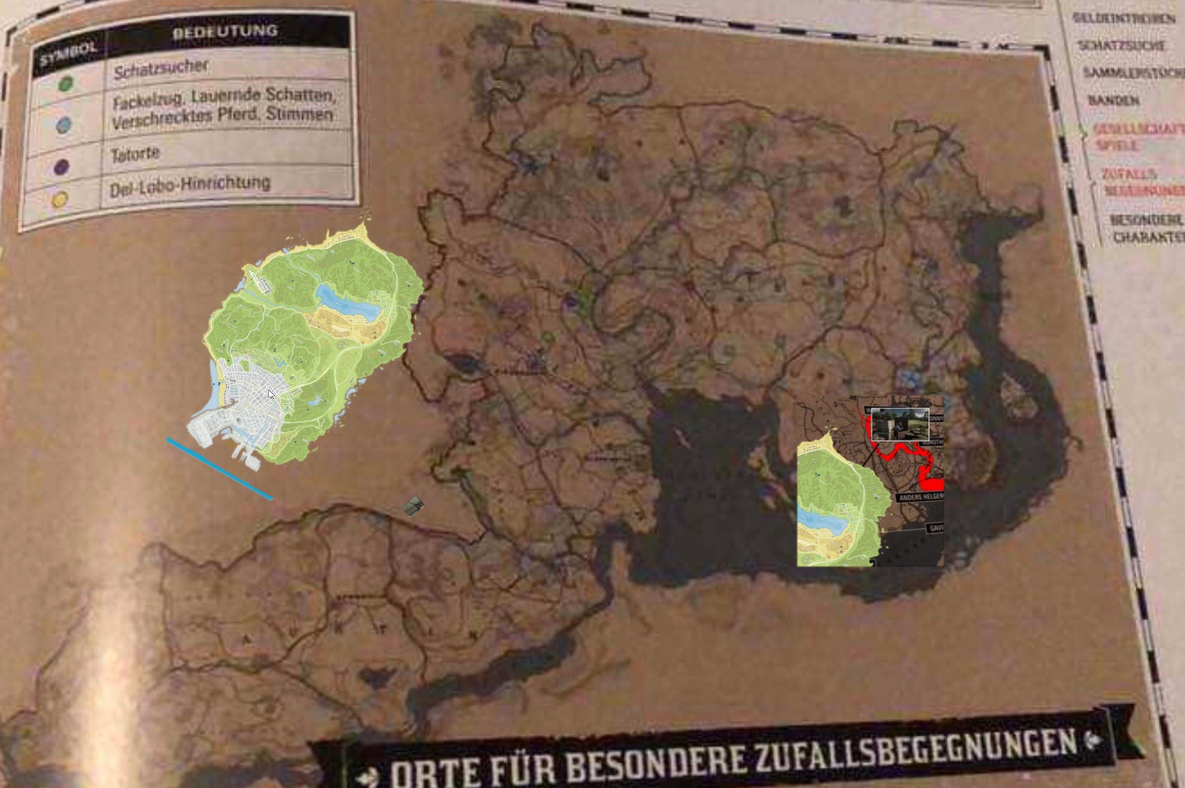 taille carte red dead redemption 2 La map de Gta V est vraiment petite comparer a rdr 2 ? sur le