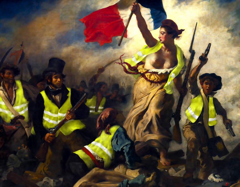 """Résultat de recherche d'images pour """"gilets jaunes élites dominantes"""""""