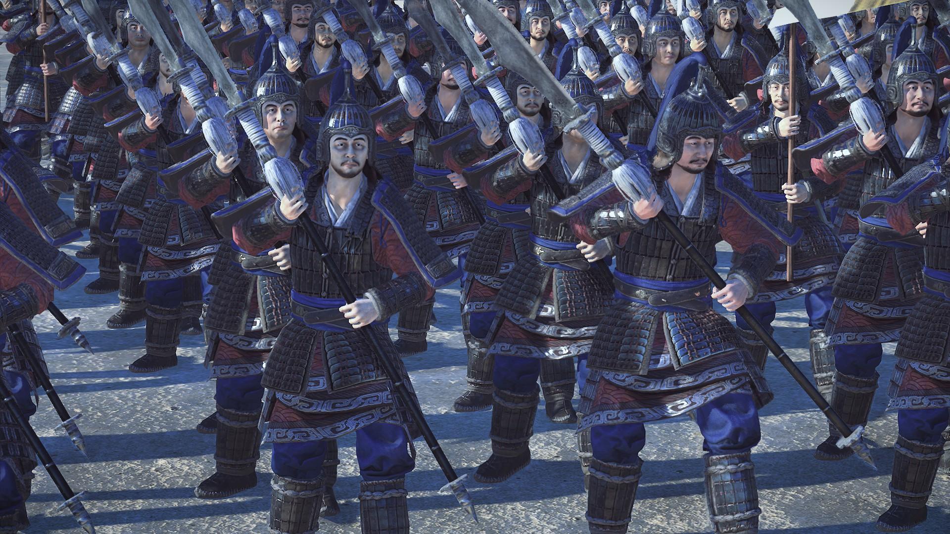 Mod] * Better Looking Units * sur le forum Total War : Three