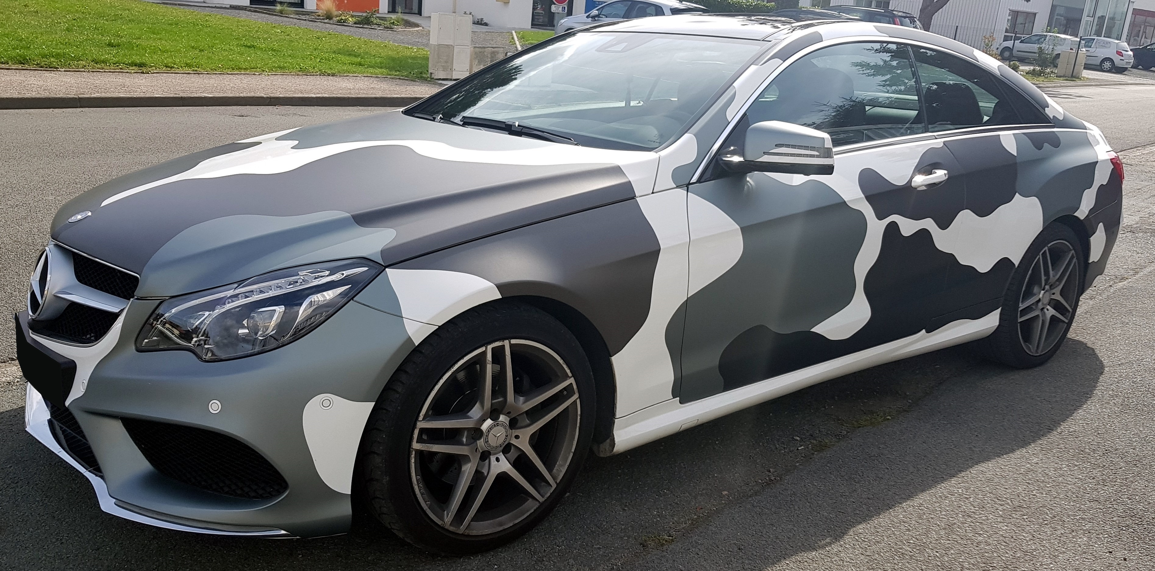 Covering camouflage voiture