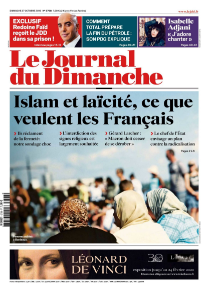 Le Journal Du Dimanche 27 Octobre 2019