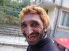 Coupe de cheveux plaque en arriere homme
