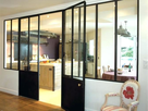 Besoin de conseil soubassement porte metal 1549047890-redoutable-cloison-verre-castorama-cloison-vitree-cuisine-castorama